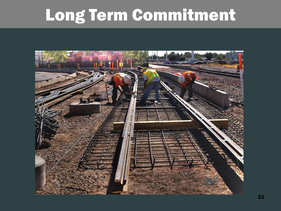 21 Long Term Commitment