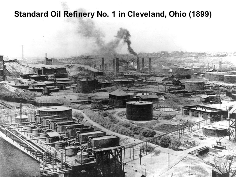 Standard Oil Refinery No. 1 in Cleveland, Ohio (1899)