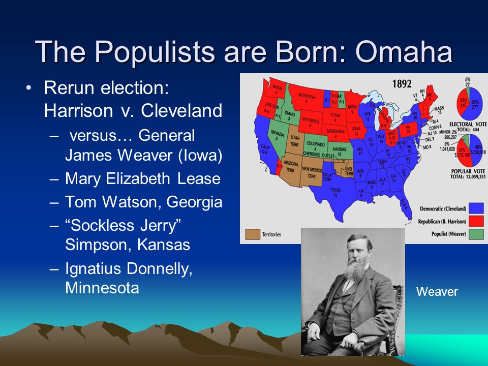The Populists are Born: Omaha Rerun election: Harrison v.