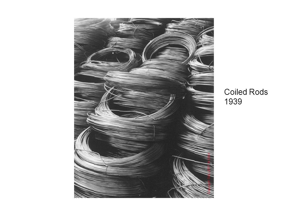 Coiled Rods 1939