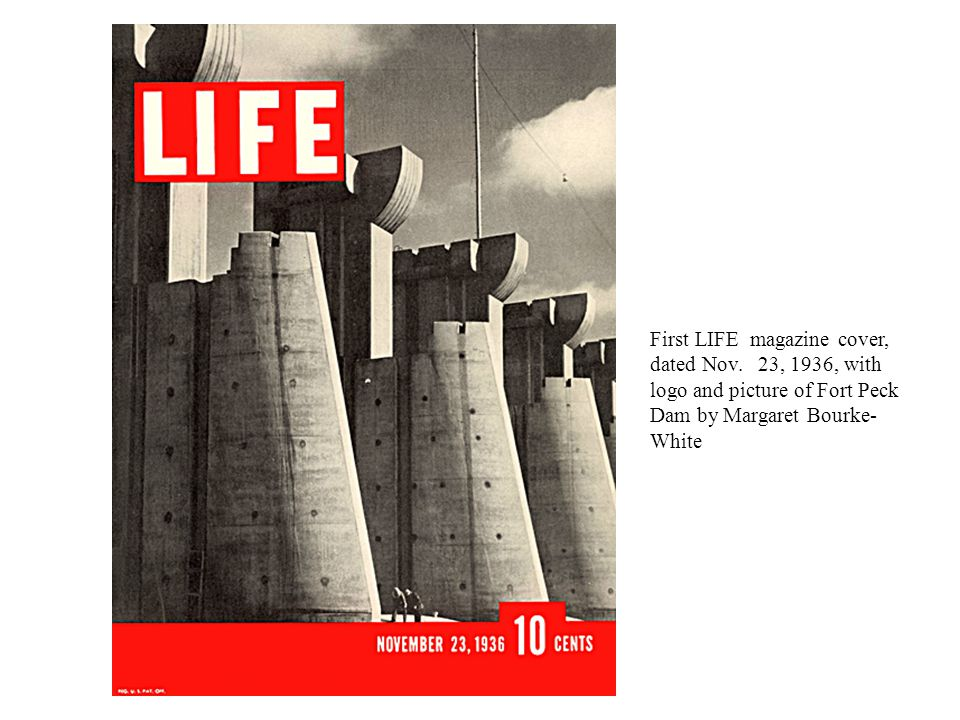First LIFE magazine cover, dated Nov.