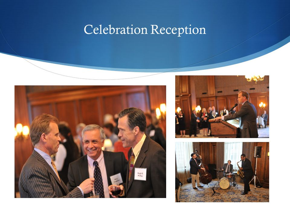 Celebration Reception