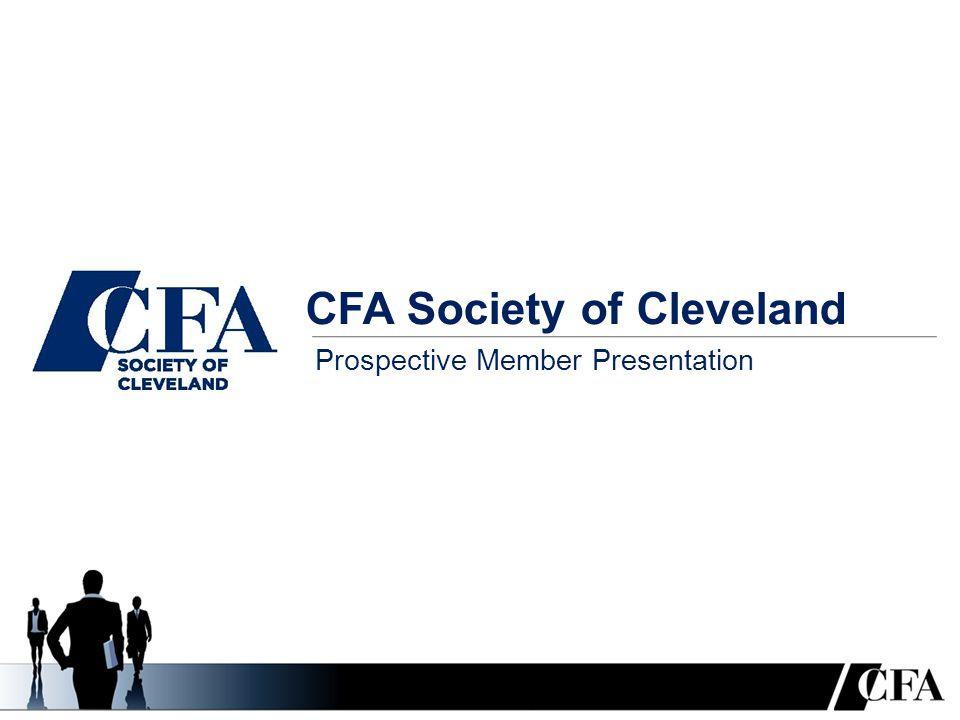 CFA Society of Cleveland Prospective Member Presentation