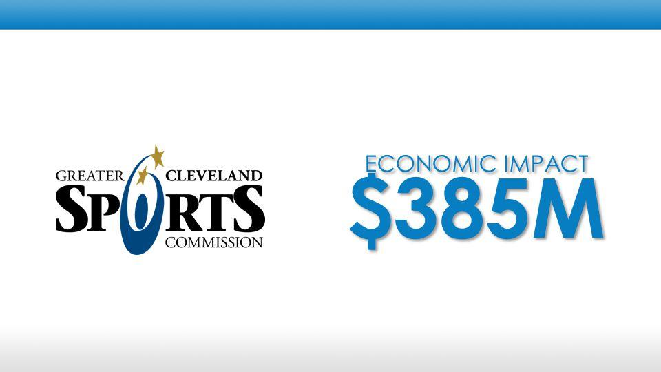ECONOMIC IMPACT $385M ECONOMIC IMPACT $385M