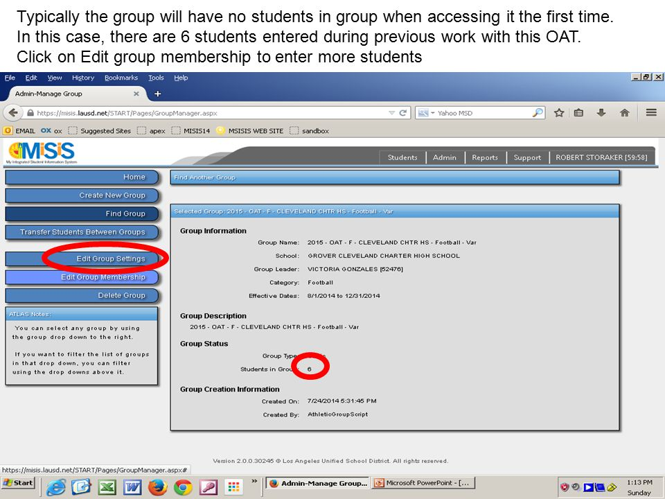 Entering a student on a group has 7 different methods.