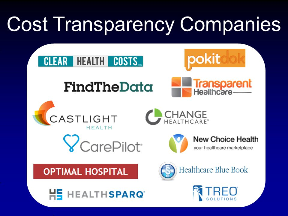 Cost Transparency Companies