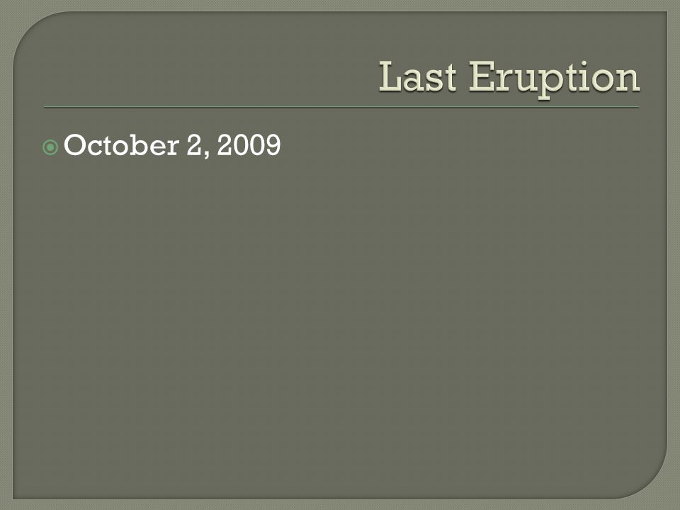  October 2, 2009