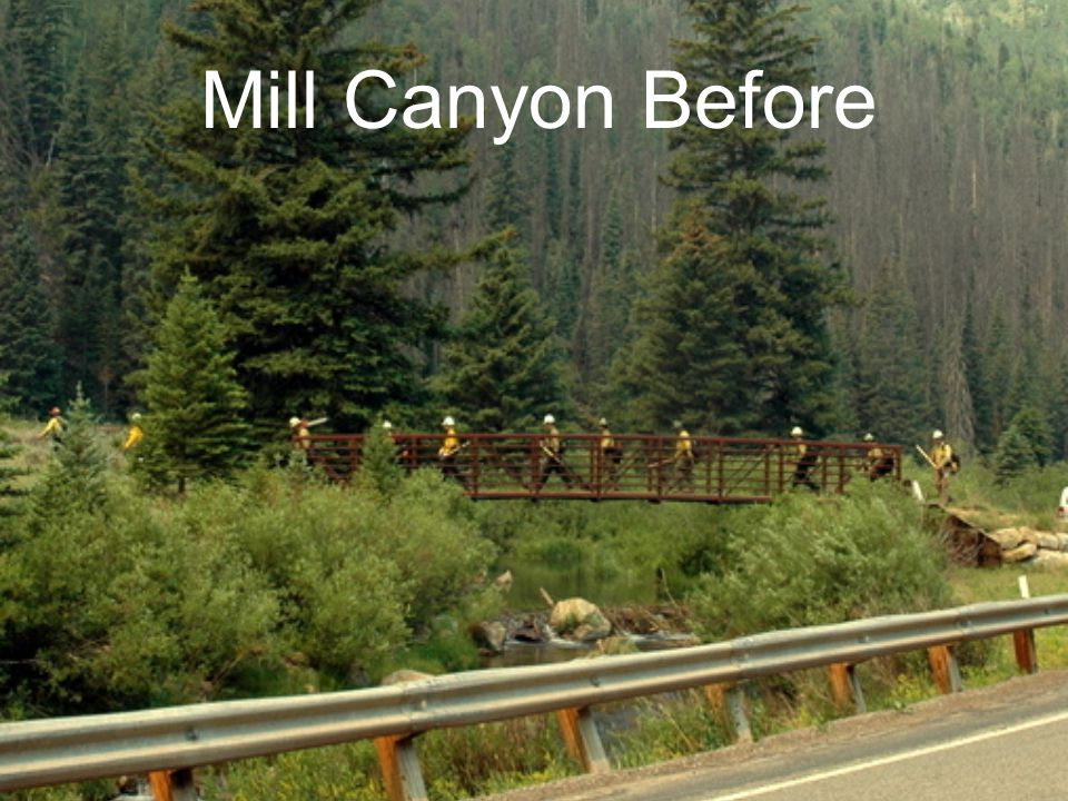 Mill Canyon Before