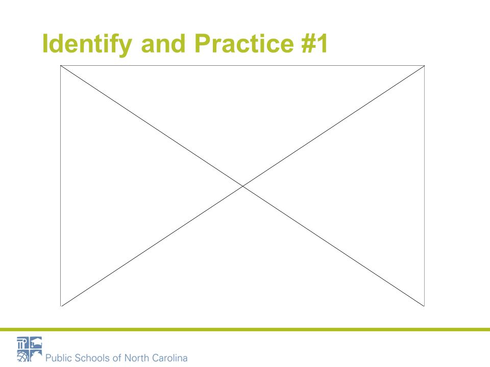 Identify and Practice #1