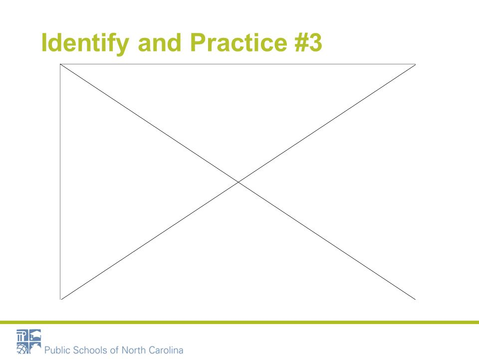 Identify and Practice #3