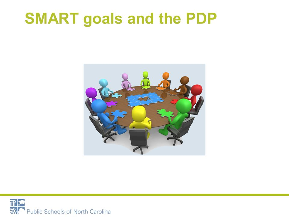 SMART goals and the PDP