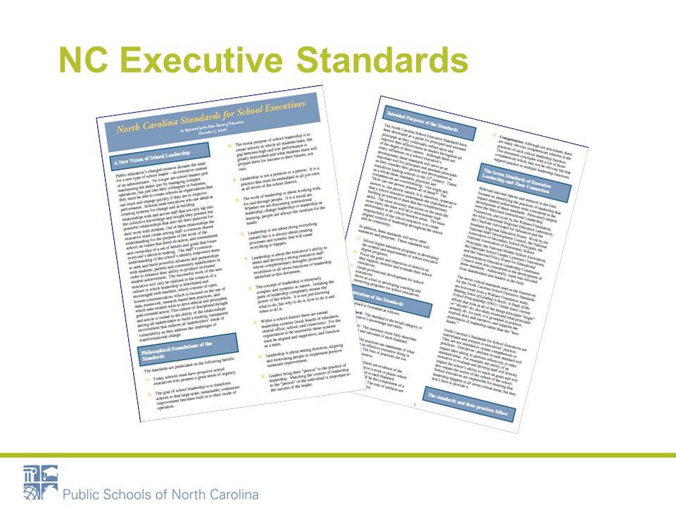 NC Executive Standards