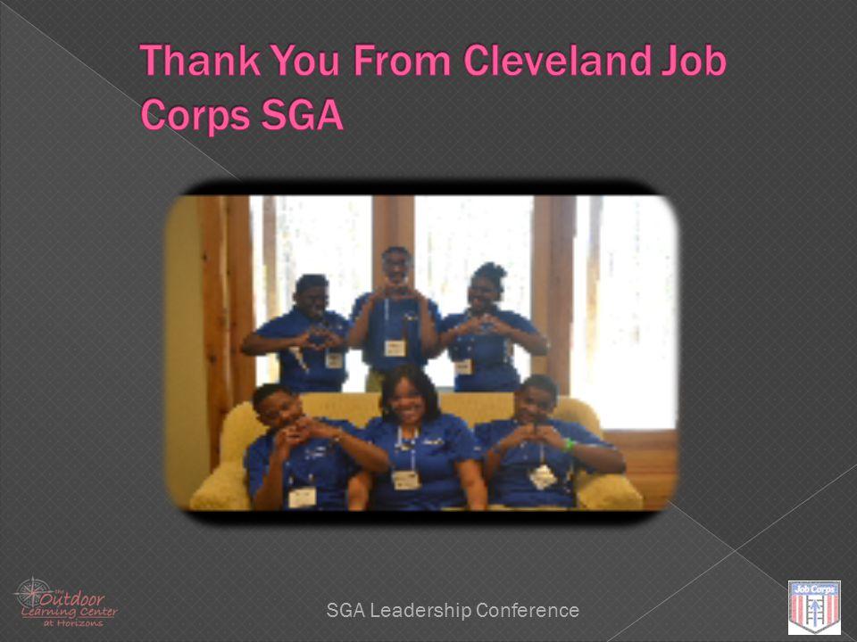 Leadership SGA Leadership Conference