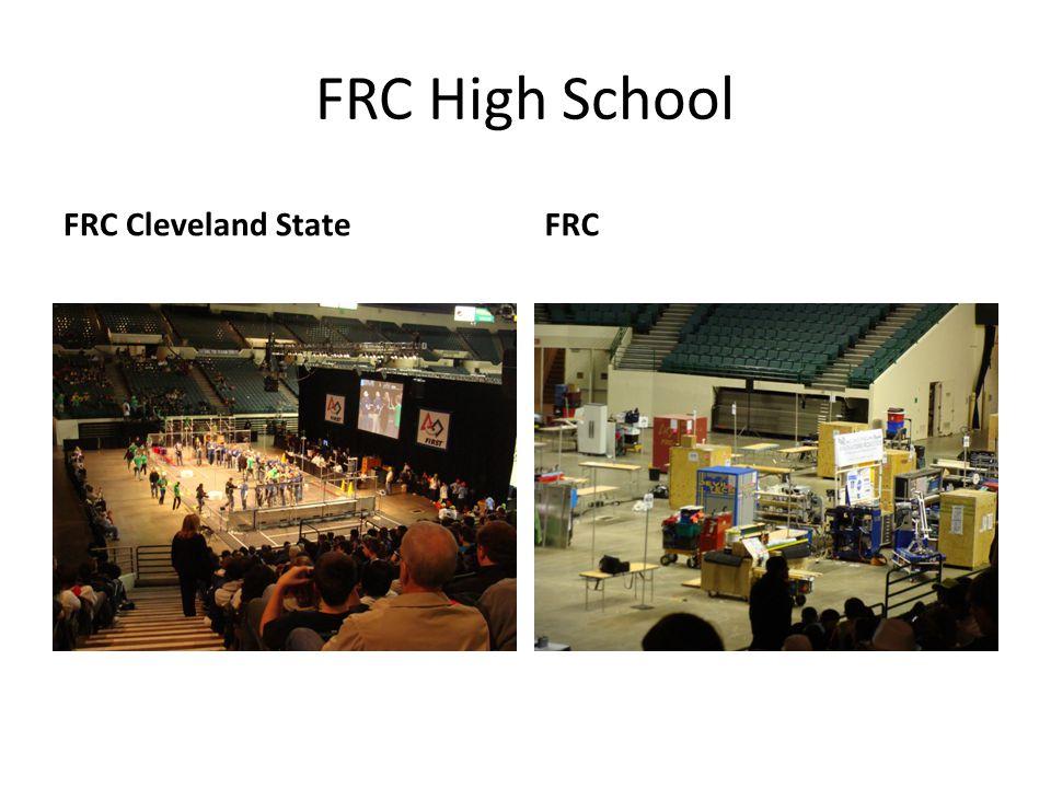 FRC High School FRC Cleveland StateFRC