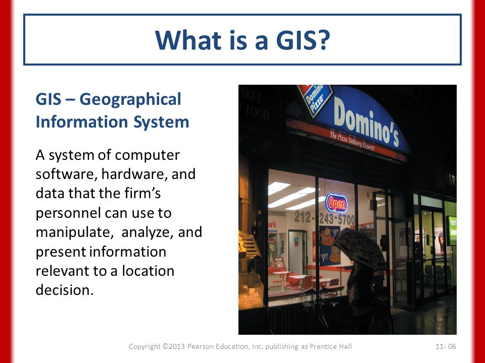 What is a GIS.