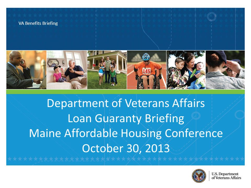 VA Benefits Briefing This document contains U.S.