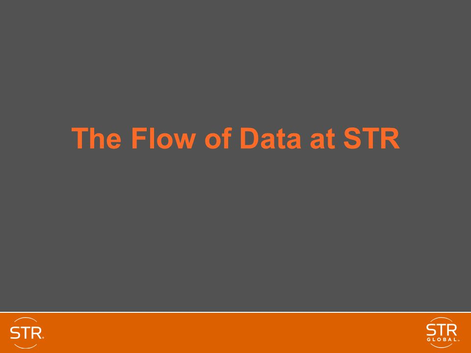 The Flow of Data at STR