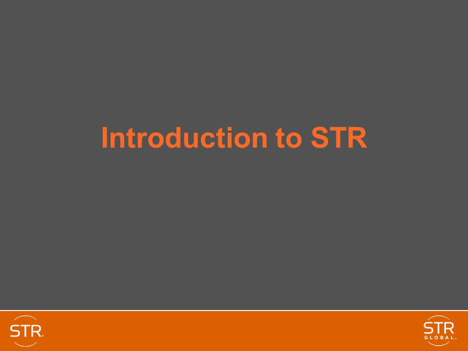 Introduction to STR