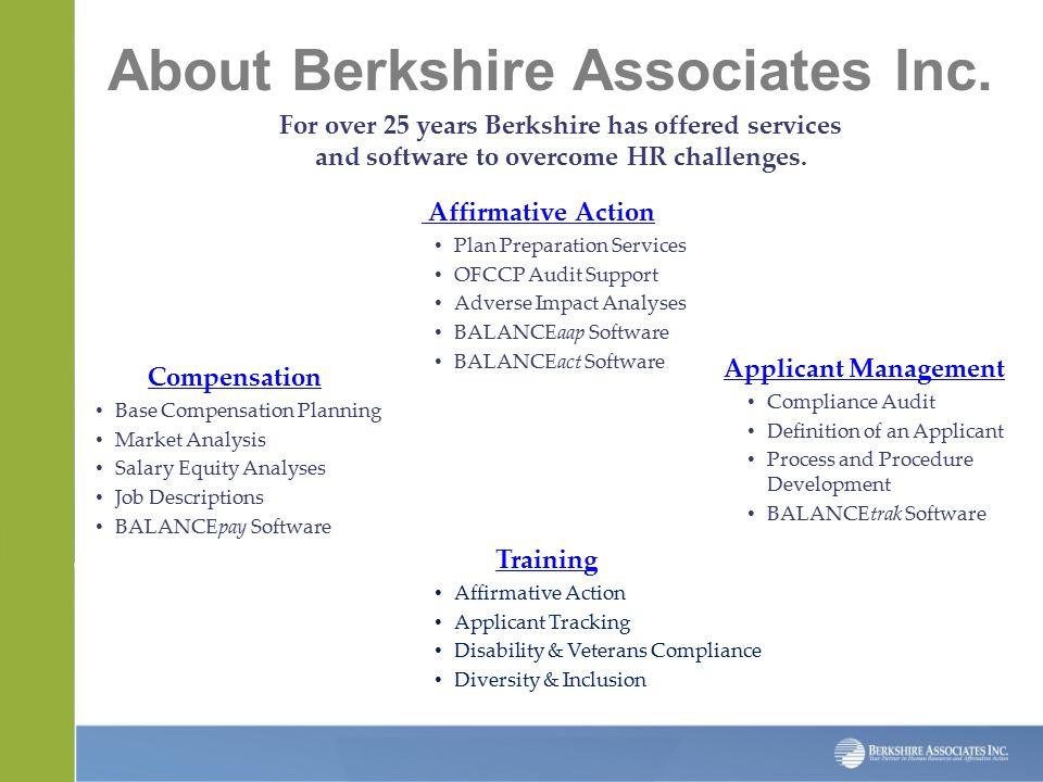 About Berkshire Associates Inc.