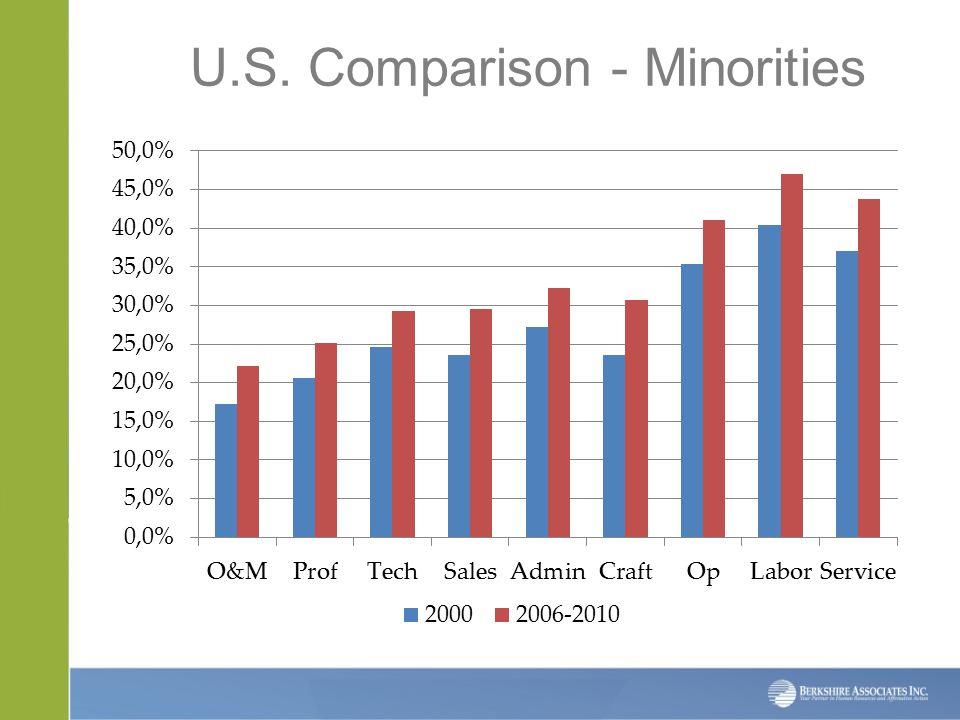U.S. Comparison - Minorities
