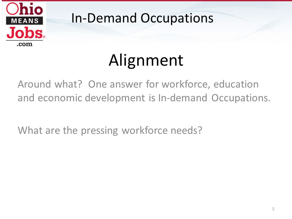 Occupational Concepts The goal is to account for: Growth Replacement Churn In-Demand Occupations 6