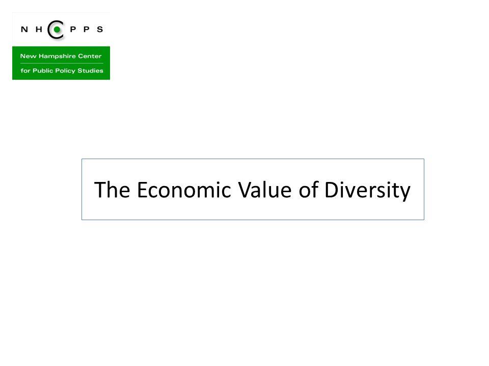 The Economic Value of Diversity