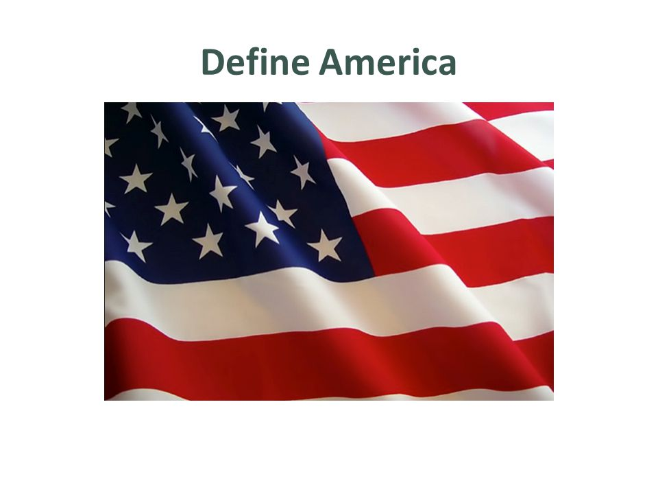 Define America