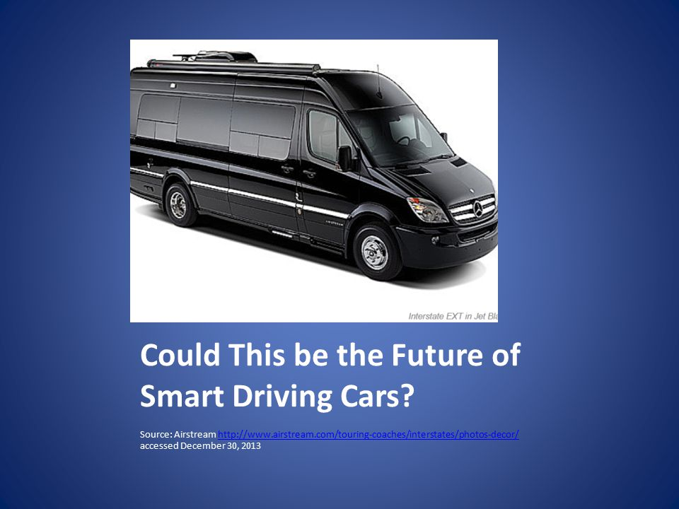 Could This be the Future of Smart Driving Cars.