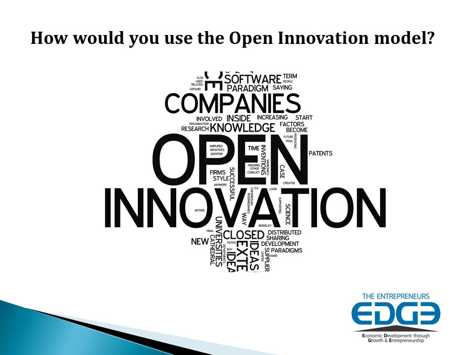 How would you use the Open Innovation model
