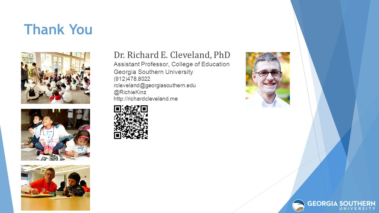 Thank You Dr. Richard E.