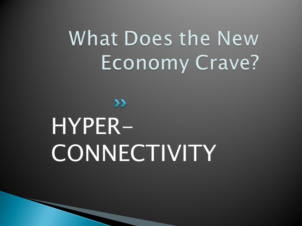 HYPER- CONNECTIVITY