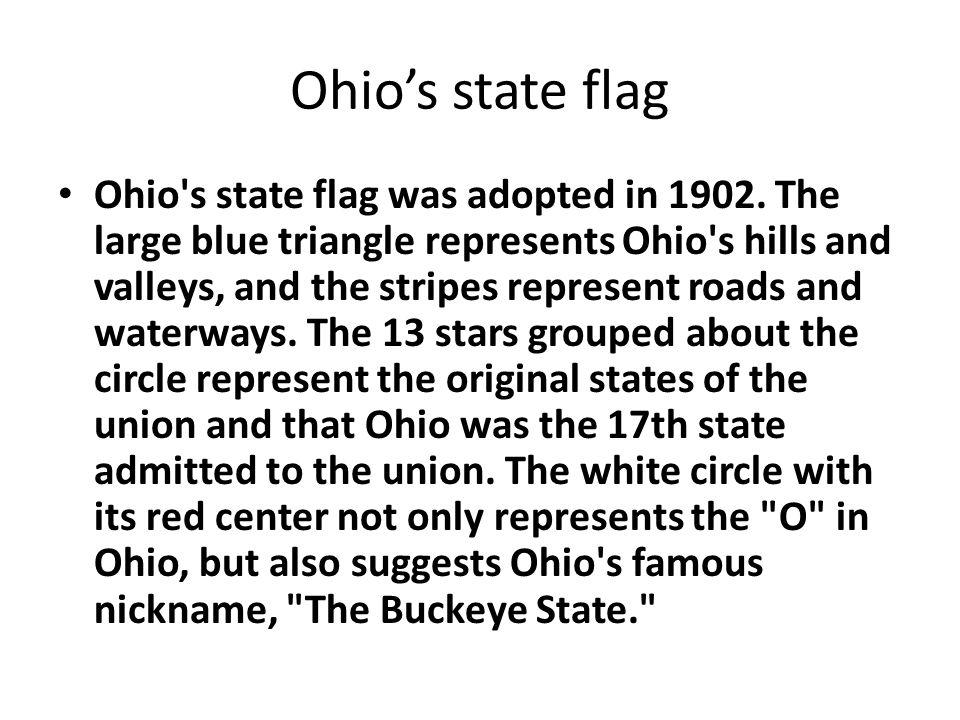 Picture of Ohio s flag