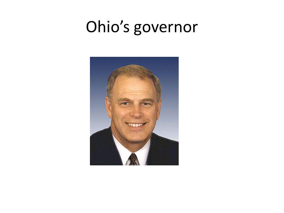 Ohio's governor