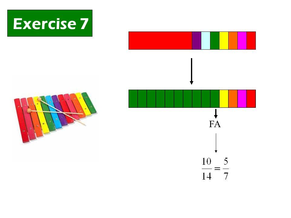 Exercise 7 FA