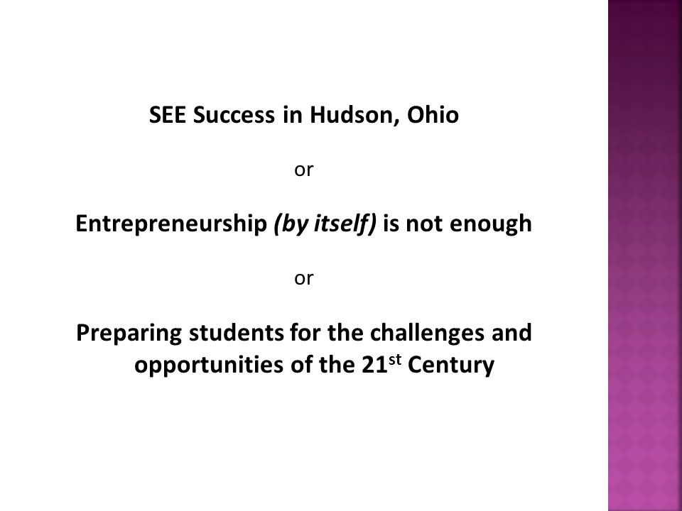 What is the Scholarship of Entrepreneurial Engagement (SEE) Program all about.