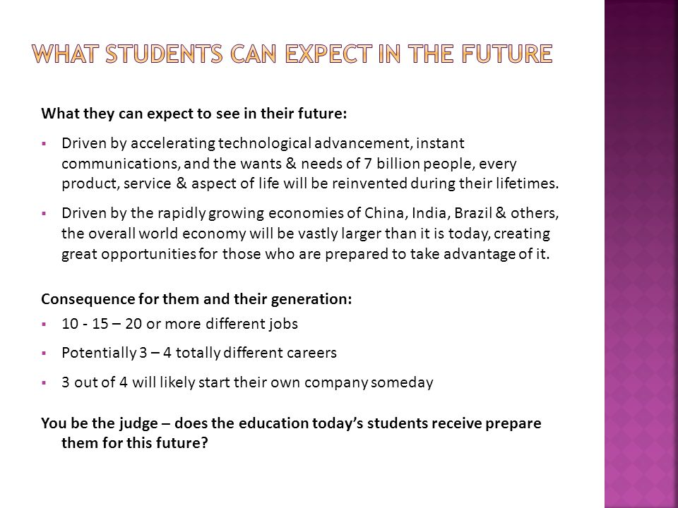 Development and retention of talent in Northeast Ohio is critical to the future of this region, initiatives, however, need to begin in high school  If students don't learn what is in the SEE program, they will be unprepared for their future.