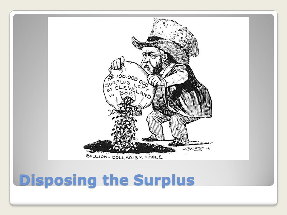 Disposing the Surplus