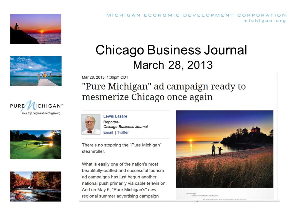 Chicago Business Journal March 28, 2013