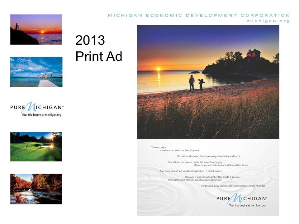 2013 Print Ad