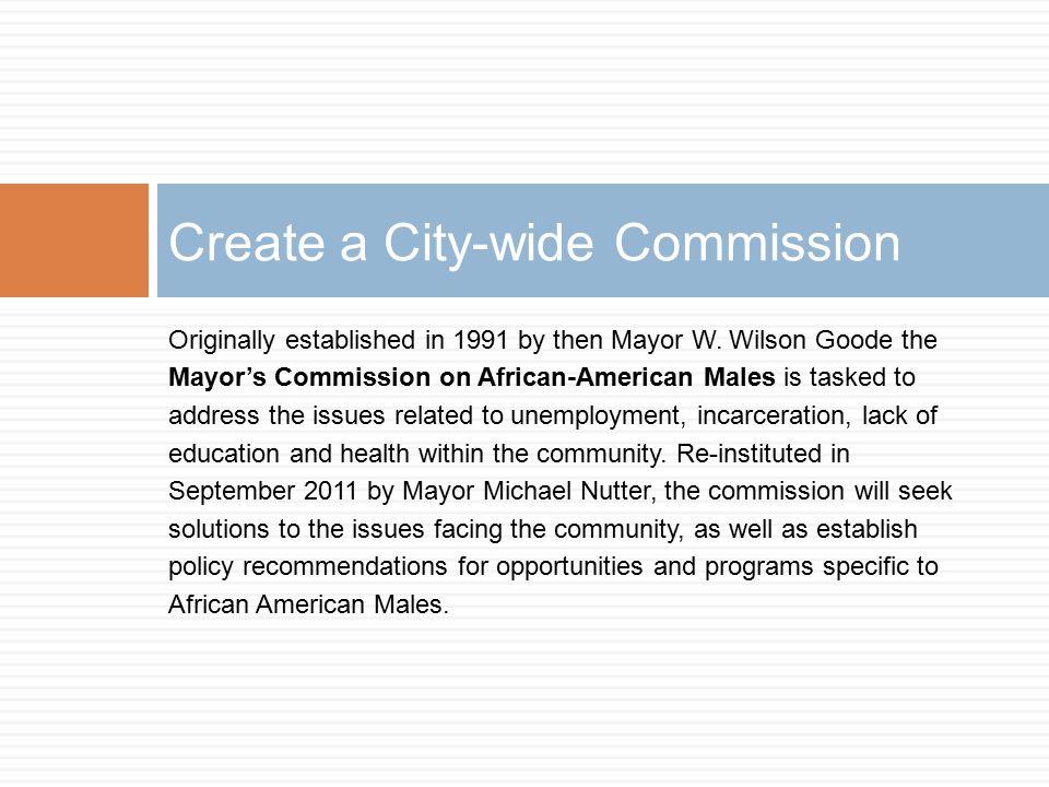 Originally established in 1991 by then Mayor W.