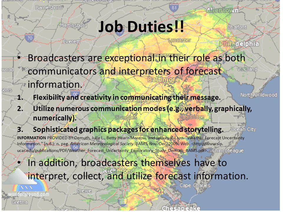 Job Duties!.