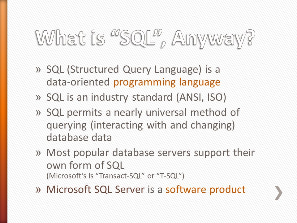 Database Administrators would use most or all categories of SQL statements.