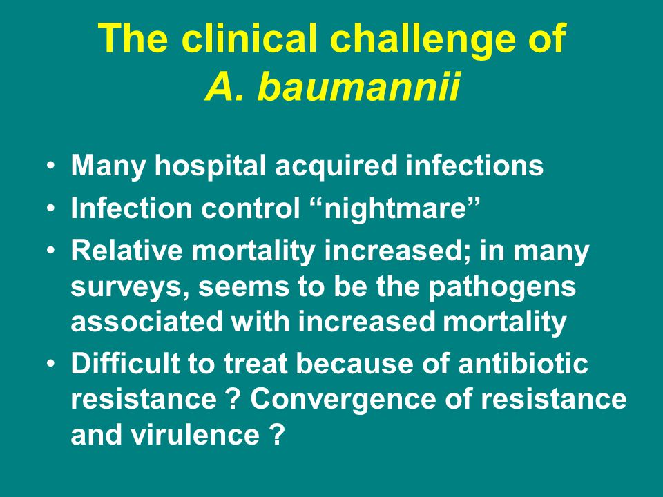 The clinical challenge of A.