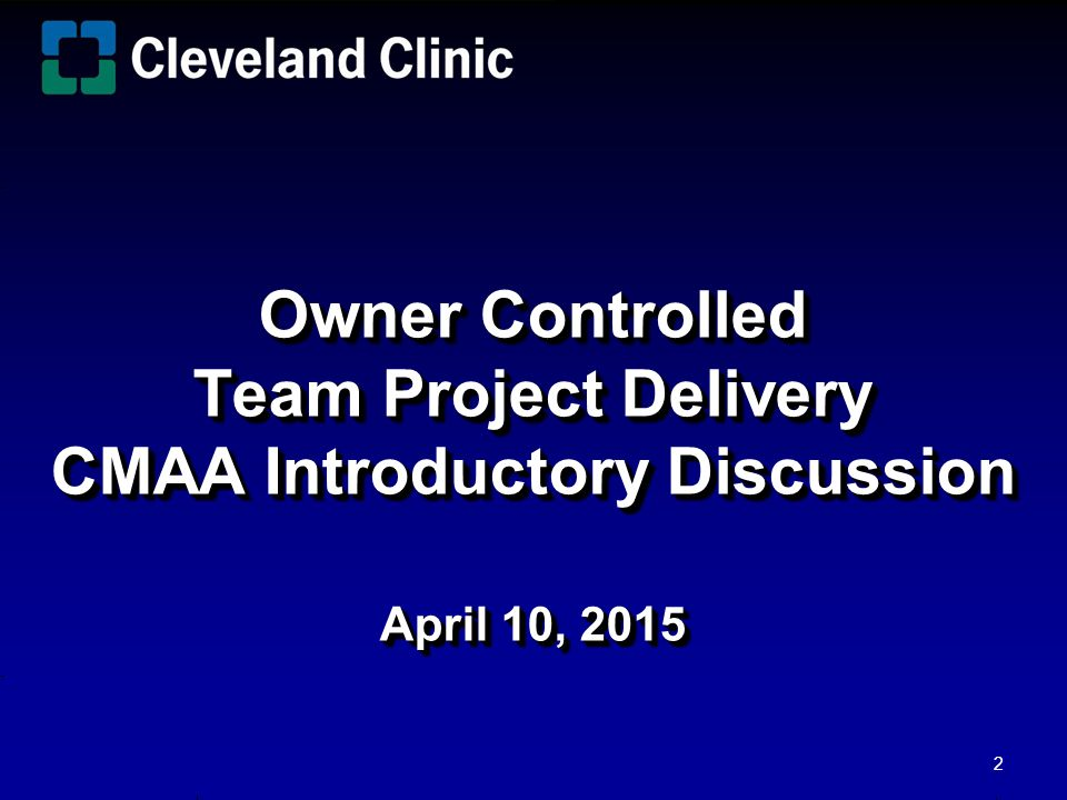 Owner Controlled Team Project Delivery OCTPD Owner Controlled Team Project Delivery OCTPD Authors Stephen Lau Ronald J.