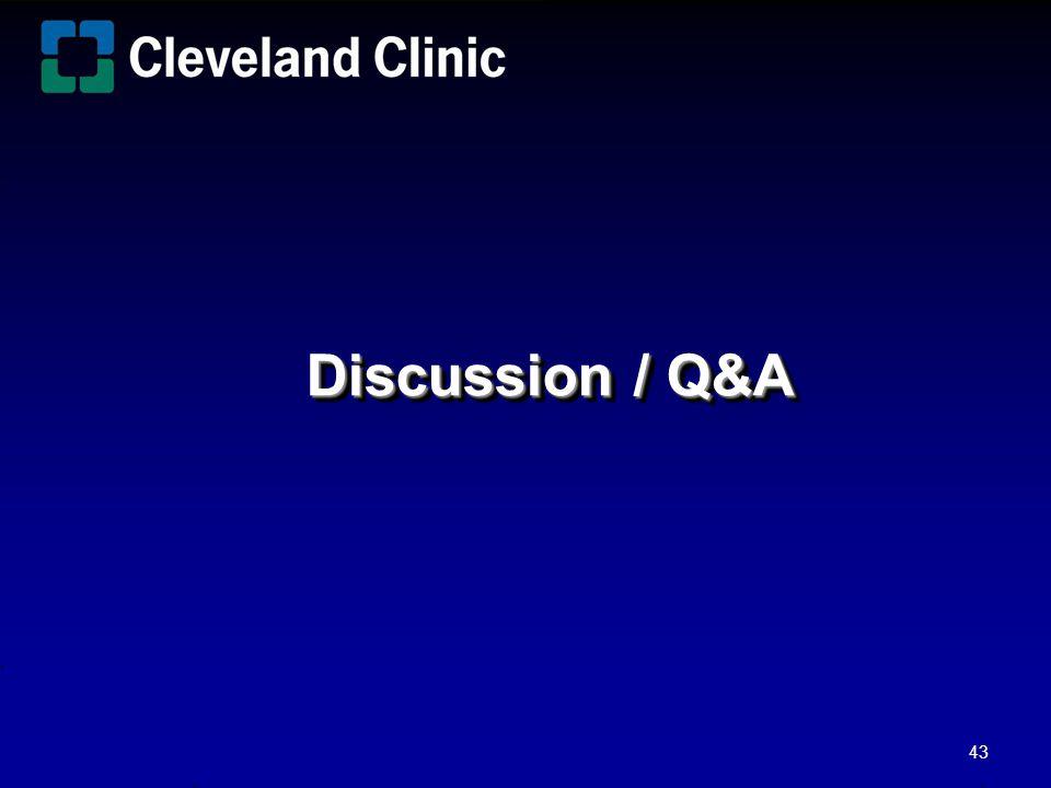 Discussion / Q&A 43