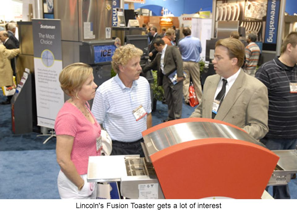 Lincoln s Fusion Toaster gets a lot of interest