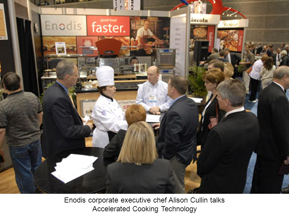 Enodis corporate executive chef Alison Cullin talks Accelerated Cooking Technology