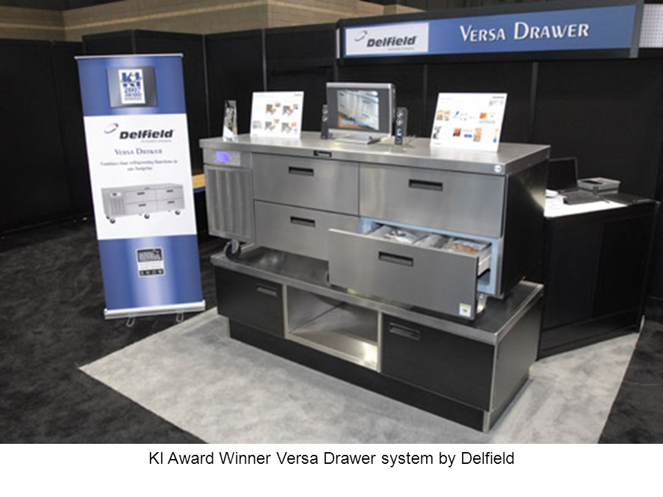 KI Award Winner Versa Drawer system by Delfield