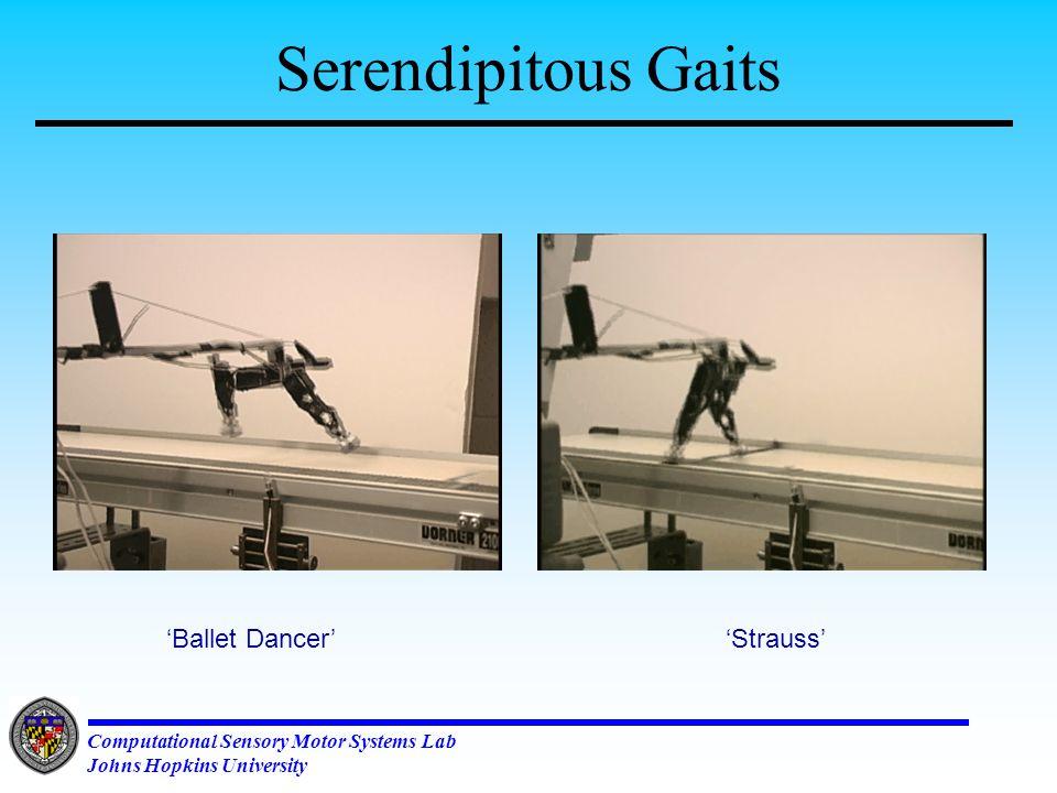Computational Sensory Motor Systems Lab Johns Hopkins University Does 1.5 Mono-peds ~ One Bi-ped