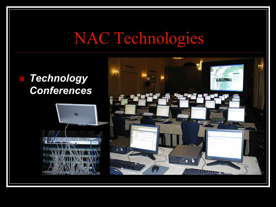 NAC Technologies Technology Conferences